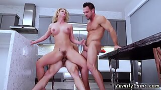 Topless sex scene first time Army Boy Meets Busty Stepmom