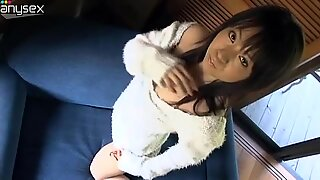 Hot Japanese seductress posing and exposing her body outdoors