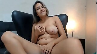 Sex Webcams Girl Strips and Rubs Cunt Breasts - chatscams.com