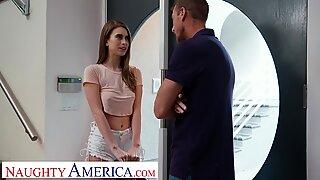 Nakal America Jill Kassidy Fucks untuk kesempatannya untuk menjadi model