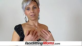 Punčochy Mamina s Kluk Facesitting Egličtina Dáma Beate