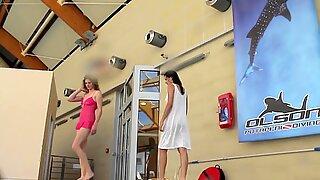 Lera og Sima Lastova Sexy under Vandet Pige