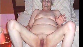 Ilovegranny montrant une énorme collection de photos de seins