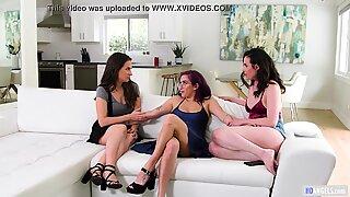 Lesbian Friends - April ONeil, Cassidy Klein, Casey Calvert
