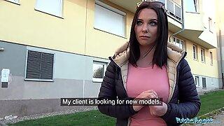 Veřejnost agent alysa mezery rusky kundička bere bušení
