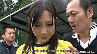 Japán Soccer Sluts több faszokat kap