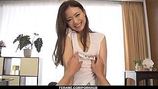 Feuchte Schwanz Blasen Praxis für Mayuka Akimoto - - mehr bei slurpjp.com