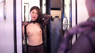 Kiina malli alaston kohtaus tallennetaan - hudwa